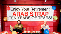 Arab Strap Tickets