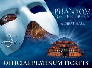 The Phantom of the Opera - 25th Anniversary Celebration Tickets
