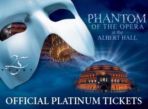The Phantom of the Opera - 25th Anniversary CelebrationTickets