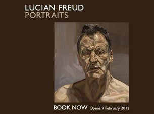 Lucian Freud Portraits Tickets