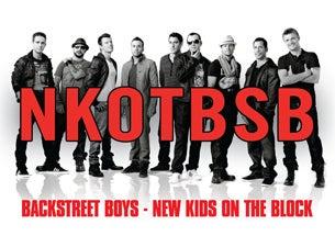 New Kids On The Block & Backstreet BoysTickets
