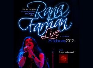 Rana FarhanTickets