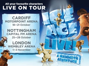 Ice Age Live! Tickets