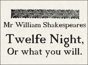 Twelfth NightTickets
