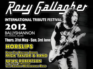 Rory Gallagher Festival Tickets
