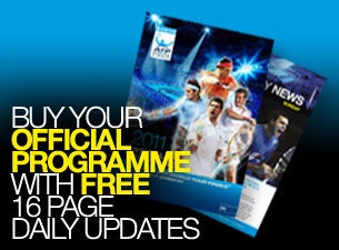 Barclays ATP World Tour Finals - Programme Voucher Tickets