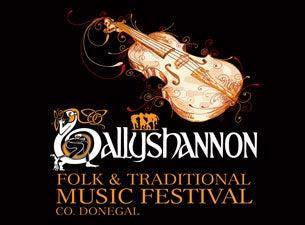 Ballyshannon Folk & Traditional Music FestivalTickets