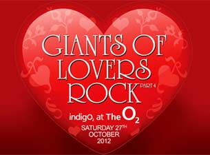 Giants of Lovers Rock Tickets