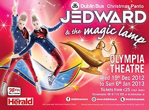 Jedward & the Magic Lamp Tickets