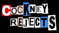 Cockney RejectsTickets