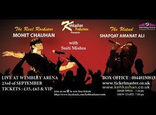 Mohit Chauhan & Shafqat Amanat AliTickets