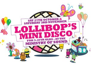 Ministry of Sound Mini Disco Tickets