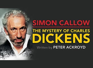 The Mystery of Charles Dickens Tickets