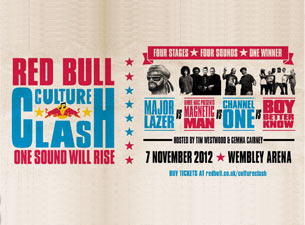 Red Bull Culture Clash Tickets