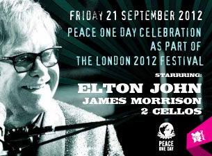 Peace One Day Celebration Tickets
