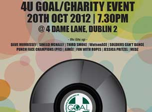 4 U Goal Charity Gig Tickets