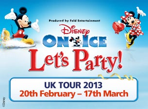 Disney On Ice : Lets Party Tickets