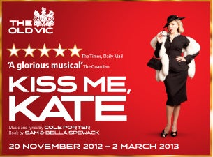 Kiss Me Kate Tickets