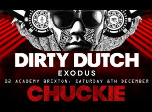 Dirty Dutch Exodus Tickets