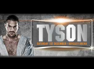 Tyson Fury Tickets