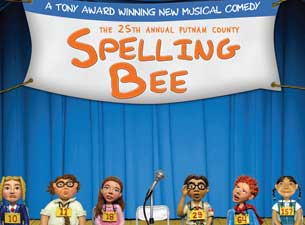 The 25th Annual Putnam County Spelling Bee (National Tour) Tickets