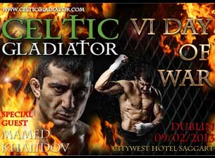 Celtic Gladiator Tickets