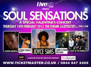 Soul Sensations Tickets
