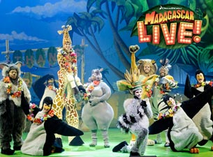 Madagascar Live! Tickets