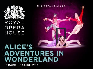 Alice's Adventures In Wonderland Tickets