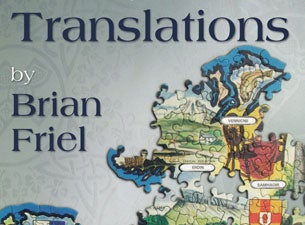 Translations By Brian Friel Tickets