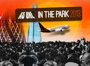 As One In the Park Tickets