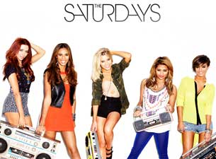 The Saturdays Tickets