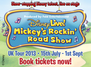 Disney Live! Mickey's Rockin' Road Show Tickets