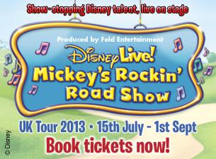 Disney Live! Mickey's Rockin' Road ShowTickets