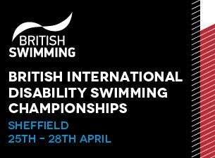 British International Disability Swimming Championships Tickets