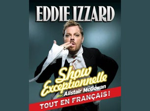 Eddie Izzard - Show Exceptionnelle Tickets