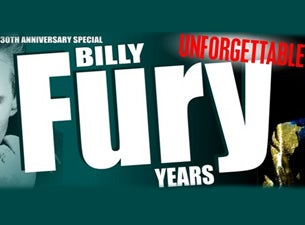The Billy Fury Years Tickets
