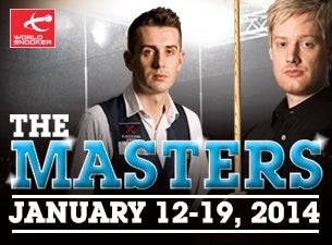 Masters SnookerTickets