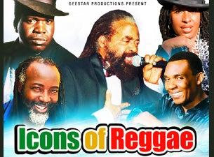 Icons of Reggae Tickets