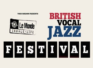 British Vocal Jazz FestivalTickets
