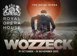 Wozzeck - Royal Opera House Tickets