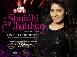 Sunidhi ChauhanTickets