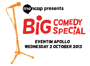 Mencaps Big Comedy Special Tickets