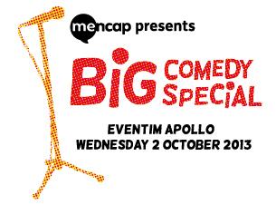 Mencaps Big Comedy SpecialTickets