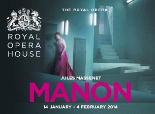 Manon - Royal Opera HouseTickets