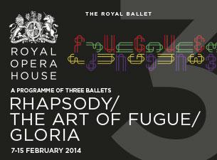 Rhapsody Mixed Bill - Royal Opera HouseTickets