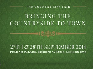 The Country Life Fair Tickets