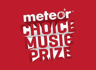 Meteor Choice Music PrizeTickets