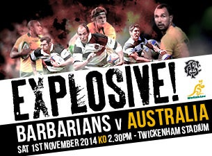 Barbarians Tickets