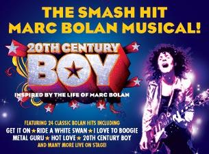20th Century BoyTickets